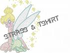 T-shirt  Fee clochette  en strass E9