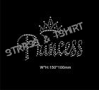 T-shirt  Princess  en strass E6