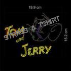 T-shirt Tom and Jerry en strass E2