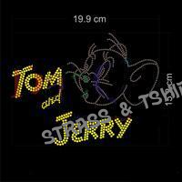 T-shirt - Tom and Jerry strass
